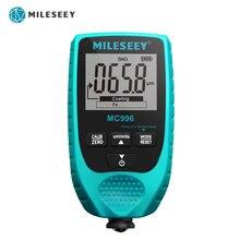 MILESEEY kalınlık ölçer s MC996 boya kalınlık ölçer otomatik kalınlık test cihazı araba boyası kalınlığı