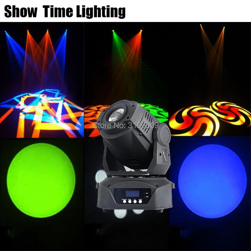 Good Effect 90W Led Moving Head Spot Light Led Beam Gobos Stage Lighting 8 Gobos 90 Watt Mobile DJ Show Moving Heads