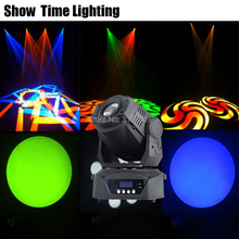 High Bright 3 Prisms Rotate Image 90W LED Gobo Moving Head 8 kinds colorsSpot Light DJ Party Disco wedding heads