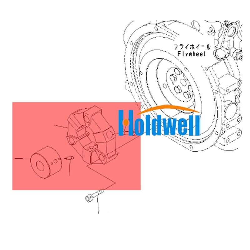 Holdwell 20T-01-31110 Kupplung Assy für Komatsu Bagger PC20-3 PC25-1 PC30-1 PC30-3 +