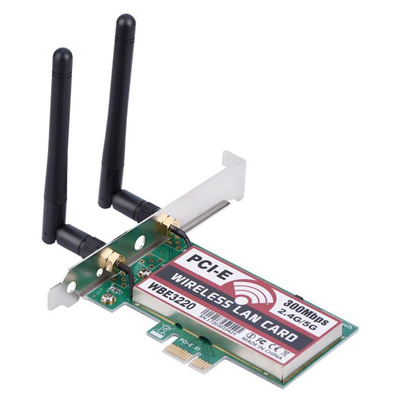 2,4G/5G 300mbps Pci-E двухдиапазонный Ap беспроводной Wifi Wlan адаптер Беспроводная точка доступа для ноутбука Mac