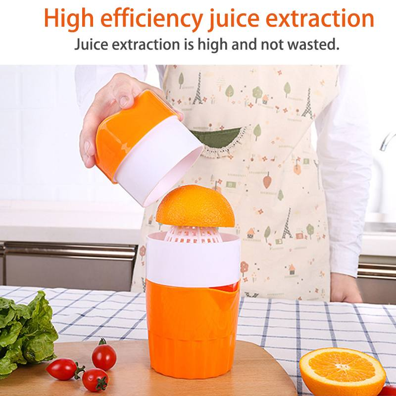 300ml Manual Citrus Juicer Cup For Orange Lemon Fruit Squeezer 100% Original Juice Child Healthy Life Potable Juicers Machine