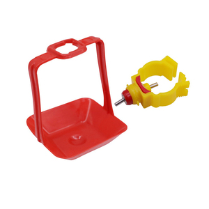 Image 5 - 40 Sets Of 25mm Chicken Nipple Drinker Hanging Cups Chicken House Drinking Water Cups Poultry Bird Cage Waterline