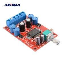 AIYIMA TA1101B パワーアンプオーディオボード 10 ワット + 10 ワットステレオ 2.0 クラス T デジタルアンプスピーカーホームサウンドシアター Diy