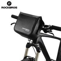 ROCKBROS Mtb Bike Front Tasche 4L Wasserdichte Lenker Tasche Fahrrad Rahmen Tasche Vorne Rohr Tasche Schulter Pack bmx Bike Zubehör-in Fahrradtaschen & Koffer aus Sport und Unterhaltung bei