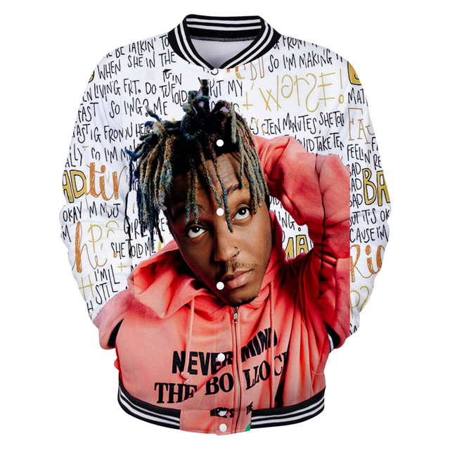 3D JUICE WRLD BASEBALL JACKET (20 VARIAN)