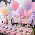 2 шт., 18/24 дюйма, воздушные шары Макарон с гелием, конфетные цвета, креативное оформление на день рождения, арки, шары, украшения, свадебные при...