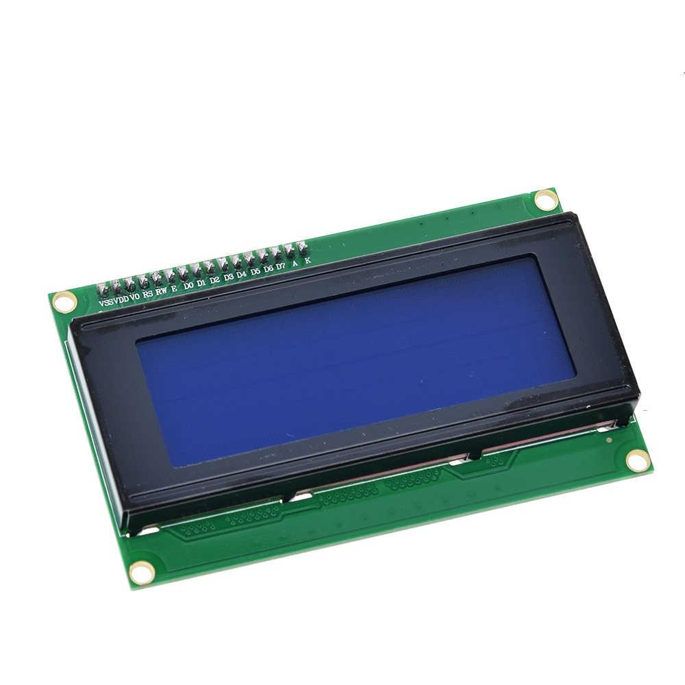 Module LCD rétroéclairé bleu vert série IIC/I2C/TWI 2004 pour Arduino UNO R3 MEGA2560 20X4 LCD2004