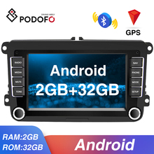 Multimedia-Player Stereo-Receiver Car-Radio Podofo Octavia Skoda Android Passat B6 Volkswagen