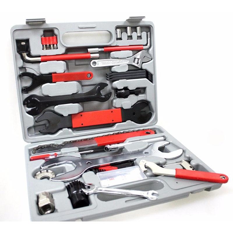 Box Set Tool Tools Bicycle Tool Repair Repair Multifunctional Hand 44 1 Bicycle Tool Combination Repair Kit Biking In