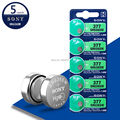 5 шт. для Sony Оригинал 377 SR626SW SR626 AG4 1,55 V оксид серебра часы батарея SR626SW 377 376 Кнопка монета ячейка Сделано в Японии