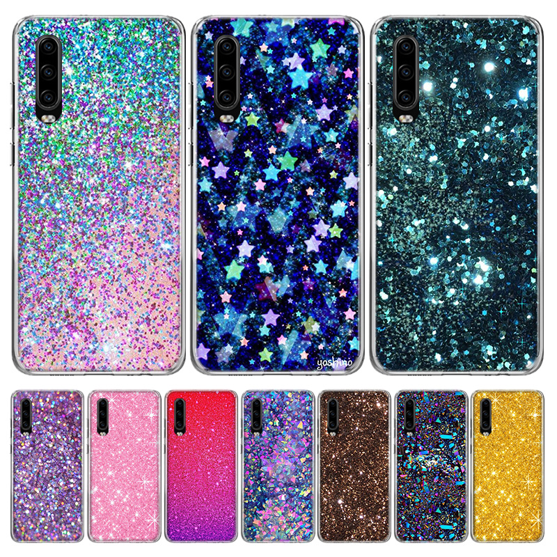 <font><b>Rhinestone</b></font> Luxury Fitted Phone <font><b>Case</b></font> for <font><b>Huawei</b></font> P40 P30 P20 Mate 30 <font><b>20</b></font> 10 <font><b>Pro</b></font> P10 Lite P Smart Z + 2019 Gift Coque Cover Capa image