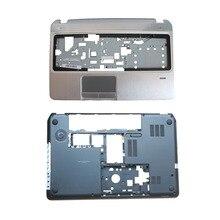 חדש תחתון בסיס Case כיסוי & Palmrest עליון מקרה כיסוי עבור HP Envy ביתן M6 M6 1000 707886 001 AP0U9000100