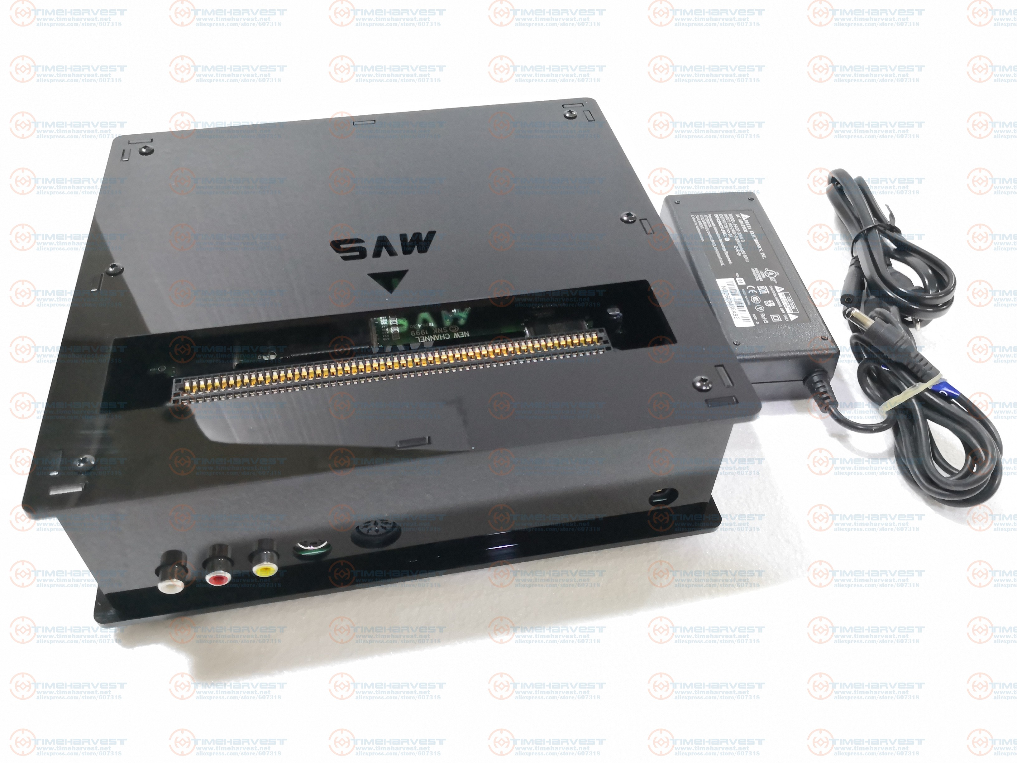 CMVS BOX JAMMA <font><b>CBOX</b></font> Motherboard <font><b>MVS</b></font> -1C to DB 15P NEO GEO SNK Joypad PS2 Gamepad With AV RGBS Output for Game Cartridge TV Games image