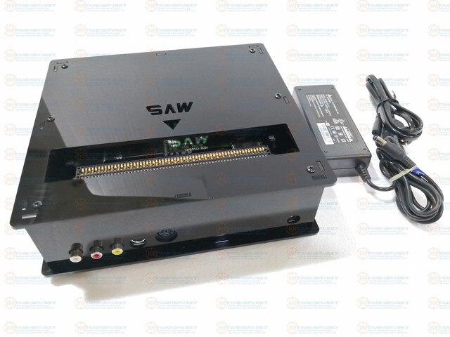 CMVS תיבת JAMMA CBOX האם MVS  1C כדי DB 15P NEO GEO SNK Joypad PS2 Gamepad עם AV RGBS פלט עבור משחק מחסנית משחקי טלוויזיה