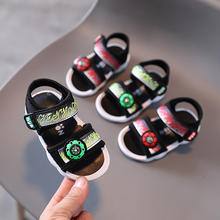 Baby Shoes Sandals Slippers First-Walking-Shoes Soft-Soled Girls Boys Summer Children's