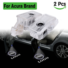 For Acura logo projection lights LED car door light led auto Ghost Shadow welcome lamp car lighting for Acura MDX RLX ZDX TLX TL hydraulic auto tensioner timing belt adjuster oem 14520 rca a01 dtd2001 70994 for hhonda odyssey pilot aacura rl tl mdx zdx 2pcs