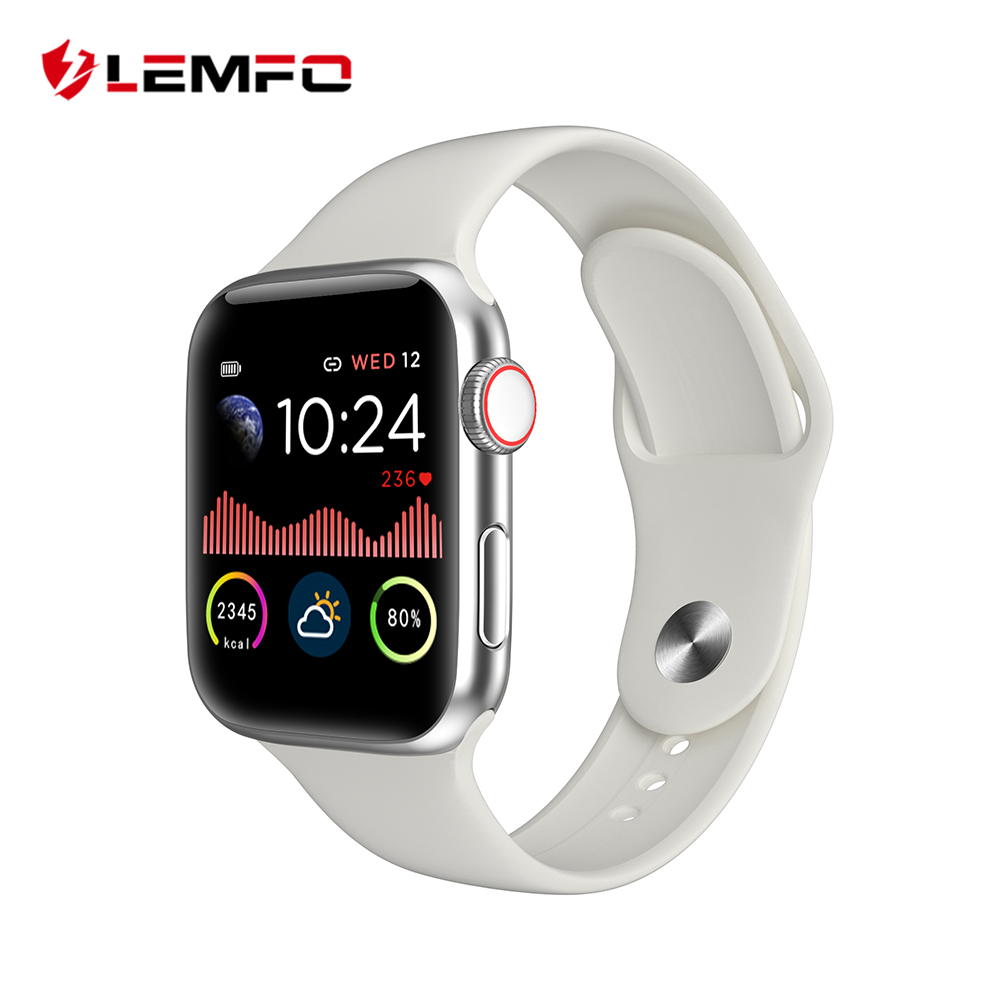 LEMFO Smart Watch Men 1.54 Inch Full Touch HD All Day Bright Display Heart Rate Monitor For Apple IOS Android Phone Smartwatch|Smart Watches| |  - AliExpress