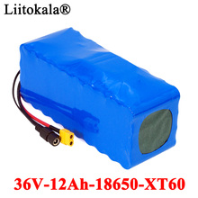 LiitoKala 36V 10Ah 500W 18650 Lithium Battery pack 10000mAh Balance car Motorcycle Electric Car Bicycle Scooter with BMS