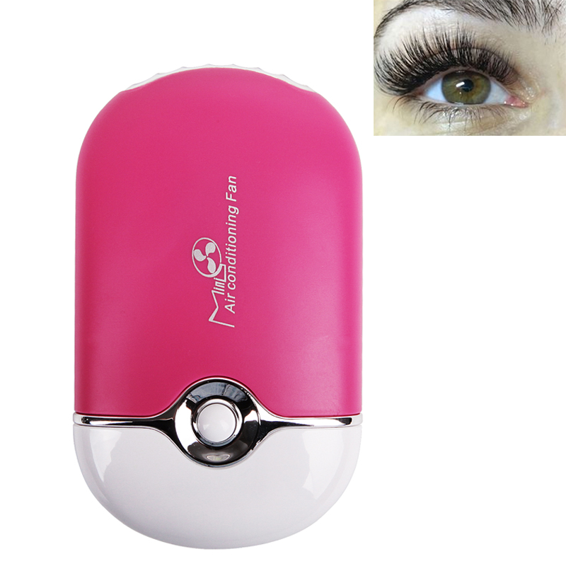 Mini USB Eyelash Fan Air Conditioning Blower Glue Grafted Individual Eyelashes Dedicated Fast Dry Eye Lashes Extension Dryer