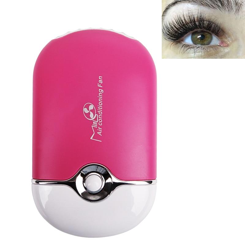 Mini USB Eyelash Fan Air Conditioning Blower Glue Grafted Individual Eyelashes Dedicated Fast Dry Eye Lashes Extension Dryer