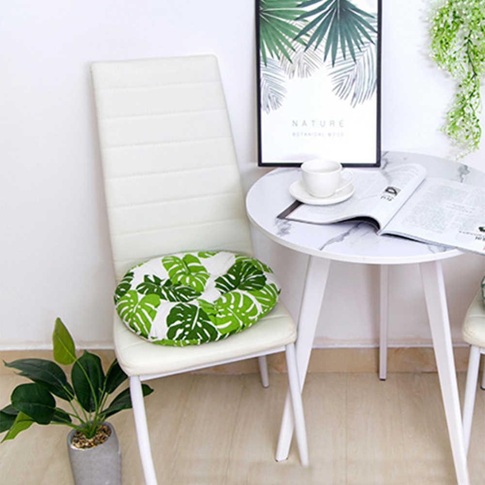 1/2/4/sztuk okrągłe poduszki na siedzenie krzesła krzesło do jadalni podkładka do siedzenia bawełna gruba podłoga poduszki domowe miejsce do siedzenia biurowe krzesło barowe poduszka