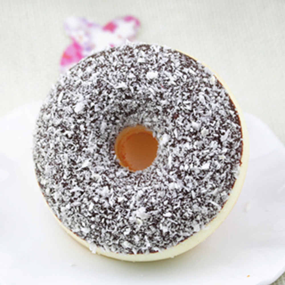 Donut-Toy Squeeze-Stress Squishy Reliever Kids Soft Slow Colourful Adult for Doughnut img5