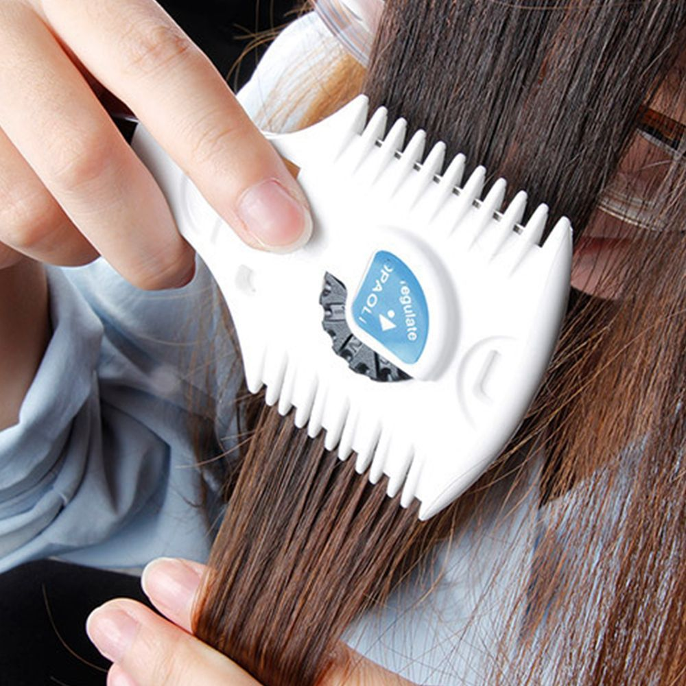 Professional Adjustable Shaving comb Manual bangs thinner Double sided blade hair comb Hair Styling Trimmer Cutter Razor Comb