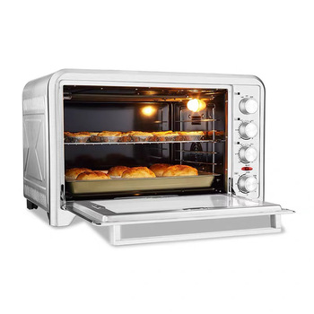 Household Electric Oven 75L Baking Oven Toaster Pizza Bakery Machine Multifunction Household Pizza Oven Baker for Home HBD-7002
