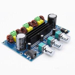 Image 3 - 2*50 Вт + 100 Вт Bluetooth 5,0, двойной усилитель мощности TPA3116D2, сабвуфер, плата 2,1 канала, TPA3116, аудио, стерео, эквалайзер, AUX Amp