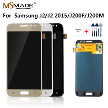 J200 LCD For Samsung Galaxy J2 2015 Display J200F J200M J200H J200Y LCD Display Touch Screen Digitizer Replacement Parts(China)