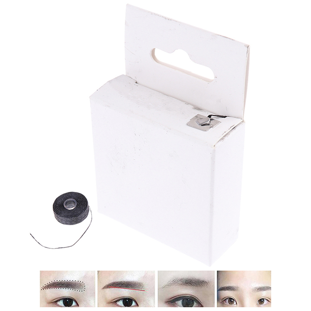 Pre-Inked Brow Mapping Strings Pigment String Brow Mapping Thread For Eyebrow Permanent Makeup For Microblading Accessories 2