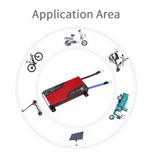 Image 5 - Batería de litio de 3,7 V para bicicleta eléctrica, BMS 13S 80A 100A 120A 150A 200A 250A PCM/PCB/BMS para 54,6 V 48V, paquete de batería de ion de litio 18650 para bicicleta eléctrica/UPS