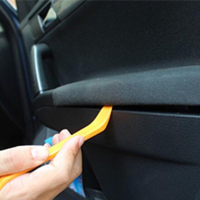 4 Uds de la Radio del coche de la puerta del Panel Clip Trim Dash para Opel Antara Astra K J H G Crossland X Grandland X Insignia Mokka X Signum