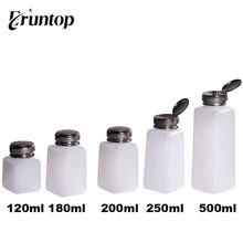 Bouteilles à pompe pour liquide, blanc, distributeur pour réparation de téléphones, dissolvant de colle, 120/180/ 200/ 250 ML, 1 pièce