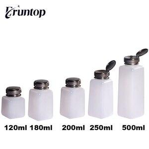 Image 1 - Bouteilles à pompe pour liquide, blanc, distributeur pour réparation de téléphones, dissolvant de colle, 120/180/ 200/ 250 ML, 1 pièce