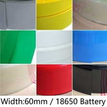 Lithium-Battery Wrap-Protection 18650-Pack Sleeve Wire-Cable Heat-Shrink-Tube Insulated-Film