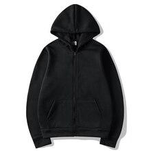 New Casual pink black gray blue zipper HOODIE Hip Hop Street wear Sweatshirts Skateboard Men/Woman Pullover Hoodies Male Hoodie