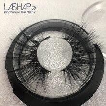 LASHAP Soft Mink Hair False Eyelashes  Light Weight Crisscross Full Strip Handmade Extension Beauty appliance 1 Pairs