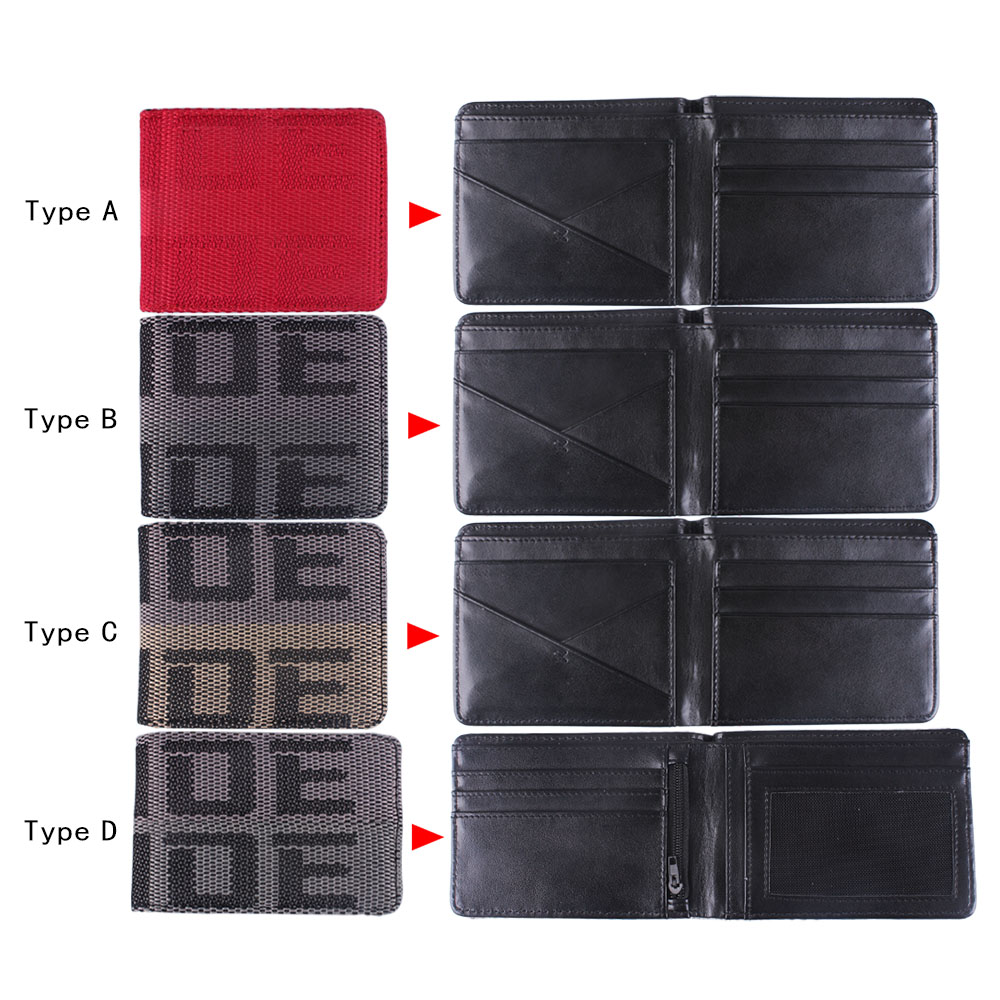 lowest price RASTP-BRIDE Wallet JDM Purse Racing Seat Fabric and Leather Canvas Wallet Key Case RS-BAG001