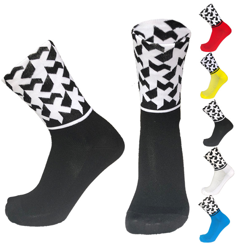 New Professional  Sport Outdoor Cycling Socks Breathable Road Bicycle Socks Mountain Bike Socks (The Same Type As The Assos