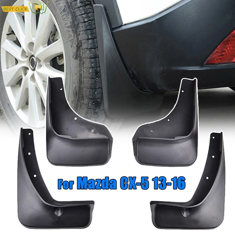 Custom Moulded Mudflaps Splash Guards Front Rear for Mazda CX-5 2012-2016