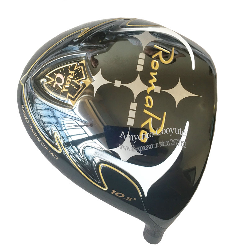 New Golf Head Romaro Ray A Golf Driver Head 9.or 10 Loft Golden Driver Clubs Head No Drives Hafts Cooyute Free Shipping