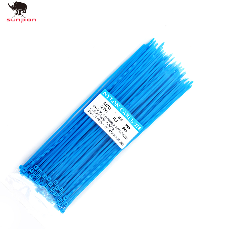 3D Printer Accessories 100pcs / Bag 5 Color 3mm X 150mm Self-locking 3D Printer Nylon Wire Cable Zip Cable Ties