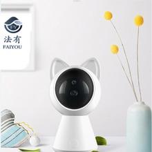 Мини Wi-Fi AI камера IP P2P дистанционный мониторинг CCTV Cam Домашняя безопасность детский монитор угол 360 градусов ИК ночного видения обнаружения движения
