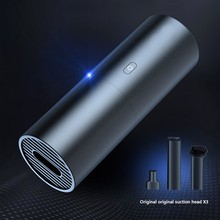 Buy New Portable 5200Pa Strong Car Suction Vacuum Cleaner Wireless aspirador Fashion Design 4400mAh Long Time BAT Wet&Dry Dual Use directly from merchant!
