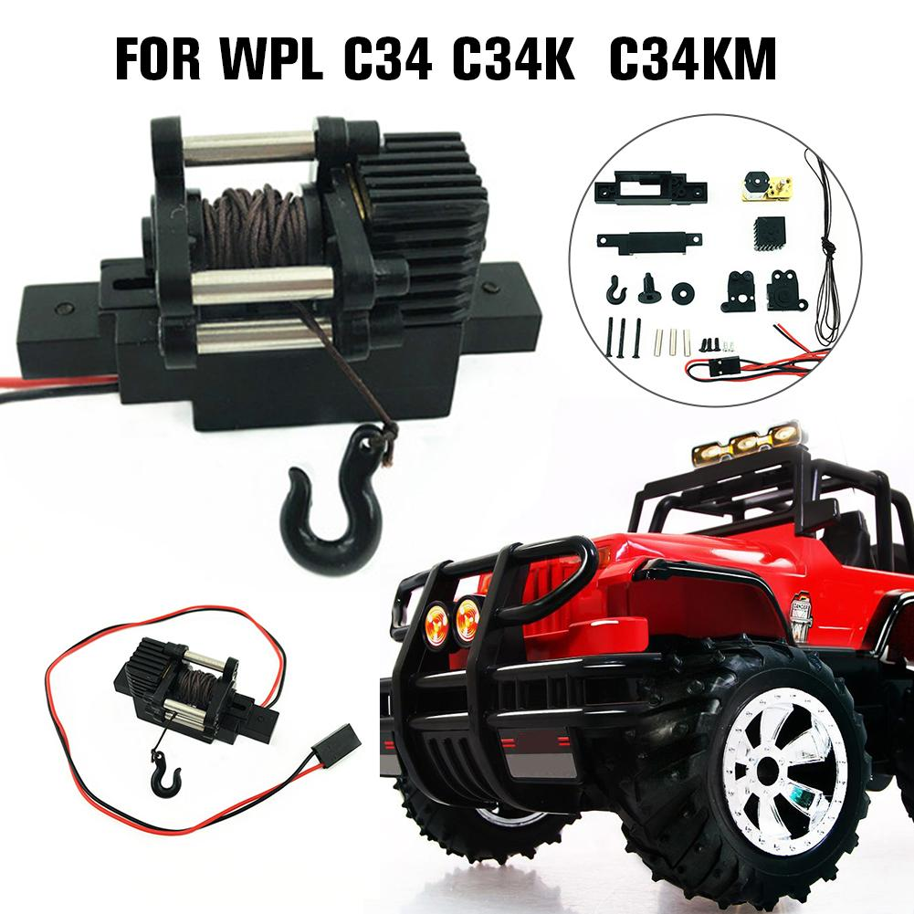 Automatic Plastic Winch For 1/16 RC Car WPL C34 C34K C34KM