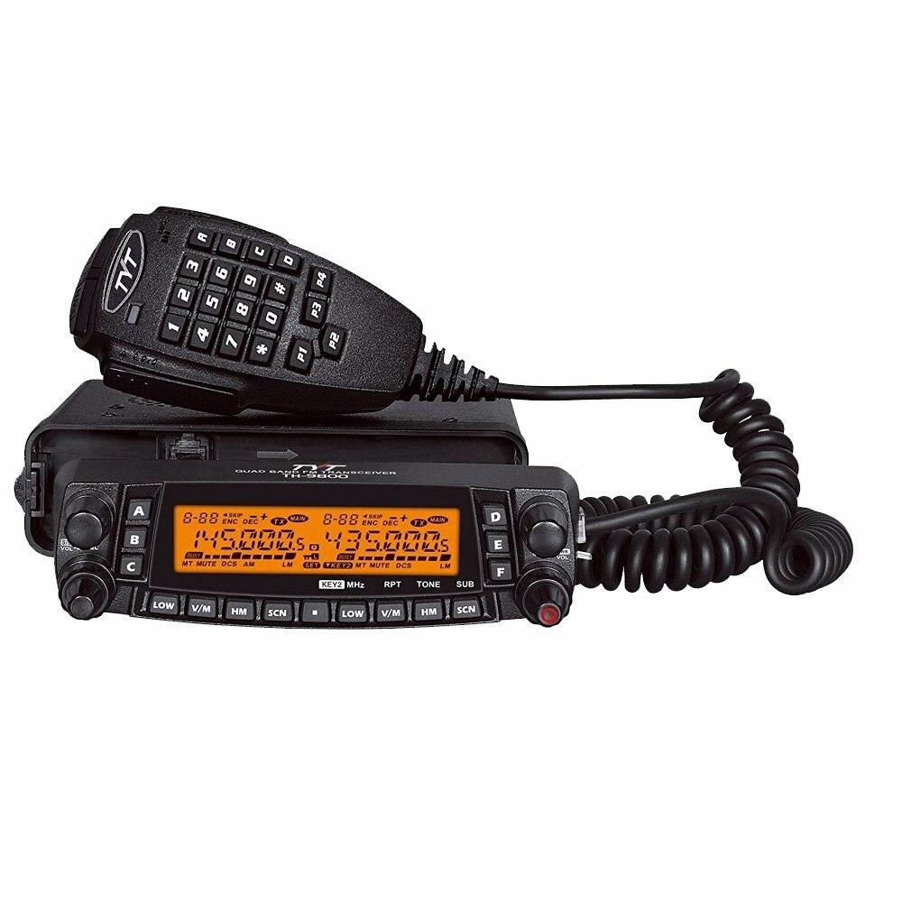 1901a tyt th9800 TH-9800 transceptor móvel estação de rádio automotivo 50 w repetidor scrambler quad band v/uhf carro caminhão rádio