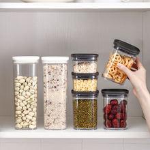 Для хранения сухих продуктов коробка пищевые контейнеры прозрачные