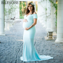Cotton Maxi Maternity Gown Dresses For Photoshoot Pregnant Women Sexy V Neck Short Sleeve Long Pregnancy Dress Photography Props summer deep v neck high waist maternity maxi dresses sleeveless draping long evening gown for pregnant women dinner slim dress